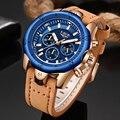 Часы Erkek Kol Saati LIGE  мужские Модные Спортивные кварцевые часы  роскошные армейские водонепроницаемые часы