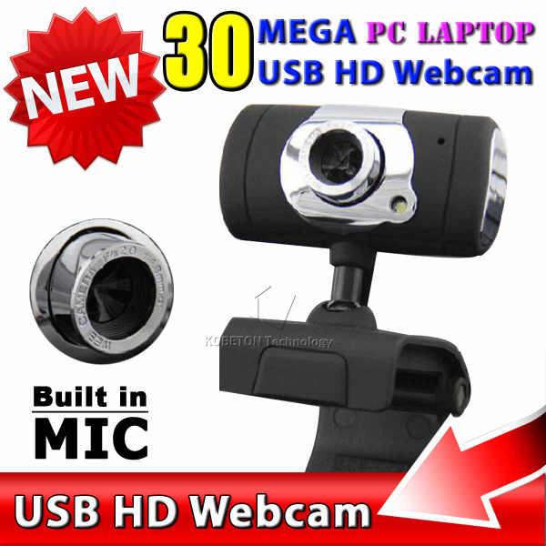Kebidumei Новый USB 2,0 30 мегапиксельная веб-камера HD камера Веб-камера с микрофоном Микрофон черный цвет для компьютера ПК ноутбук
