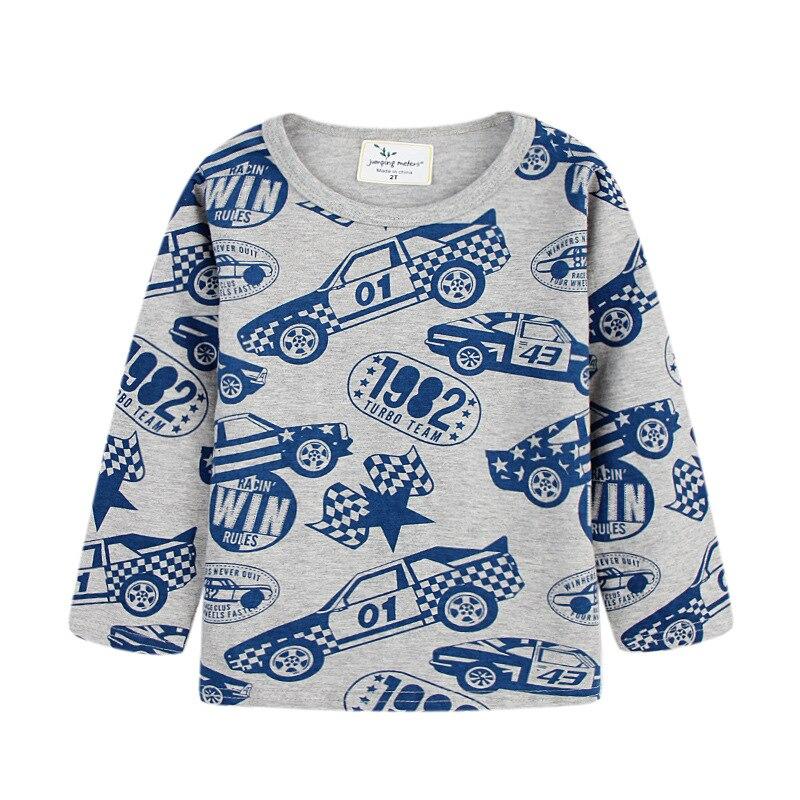 2017 New Brand Boys Clothes Autumn Car Boys T Shirt Designer Baby