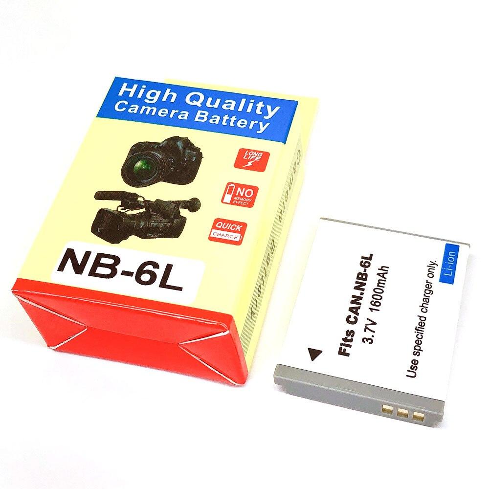 NB-6L NB6L NB-6LH 85IS 310 95 NB6LH Bateria Para Canon IXUS 200 105 210 300 S90 S95 SD770 SX240 SX275 SX280 SX510 SX500 SX520 HS