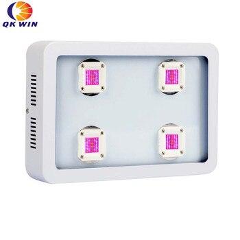 Qkwin cob 1200W led Гидропоника светать полный спектр света 4x300W для комнатной посадки выращивания Вег цветения высокой мощности