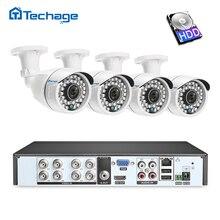 8CH 1080 P HDMI DVR Kit CCTV Sistema di Sicurezza 4 PCS 2.0MP Esterna di IR di Visione Notturna AHD Telecamera A Raggi Infrarossi P2P video di Sorveglianza di Set