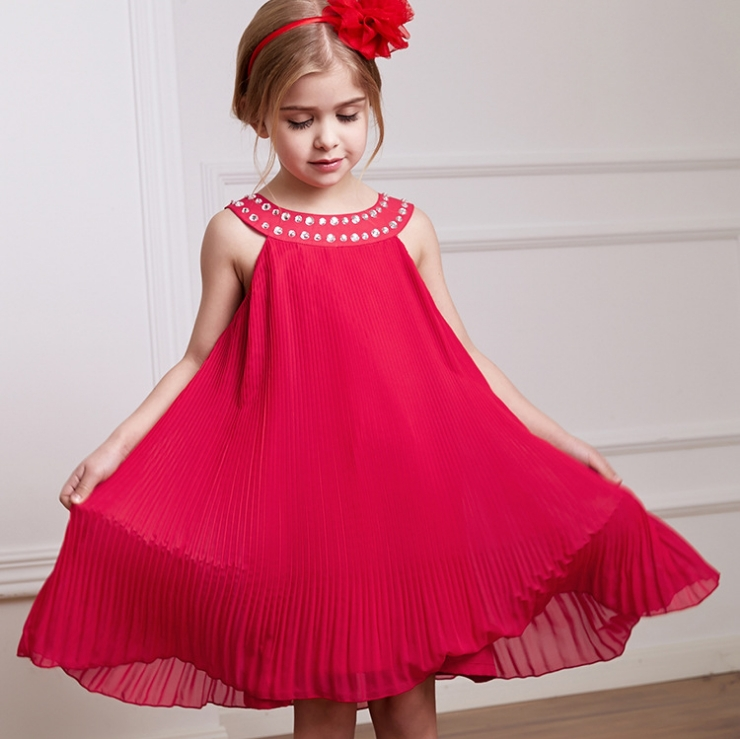 Aliexpress.com : Buy Noble Girls Dresses Princess Chiffon Dress ...