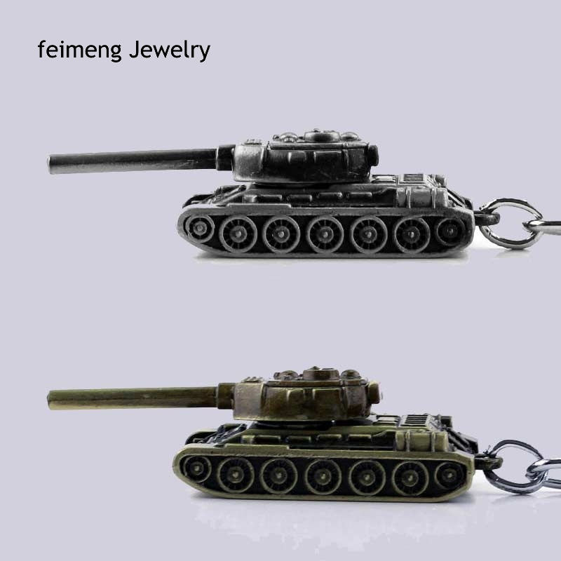 3D World of Tanks Key chain Metal Key Rings For Gift Chaveiro Car Keychain Jewelry Game Key Holder Souvenir Free Shipping