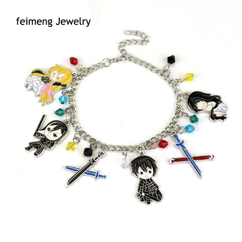 Cute Anime Pokemon Cartoon Glaze Pokemon GO Crystal Beads Alloy Pendant Bracelet Gift For For Women Game Jewelry Free Shipping