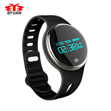 Smart Bracelet 24 12 Hour System Necklace Smartband Electronic Pedometer Fitness Watch Step Counter Smart Wristband