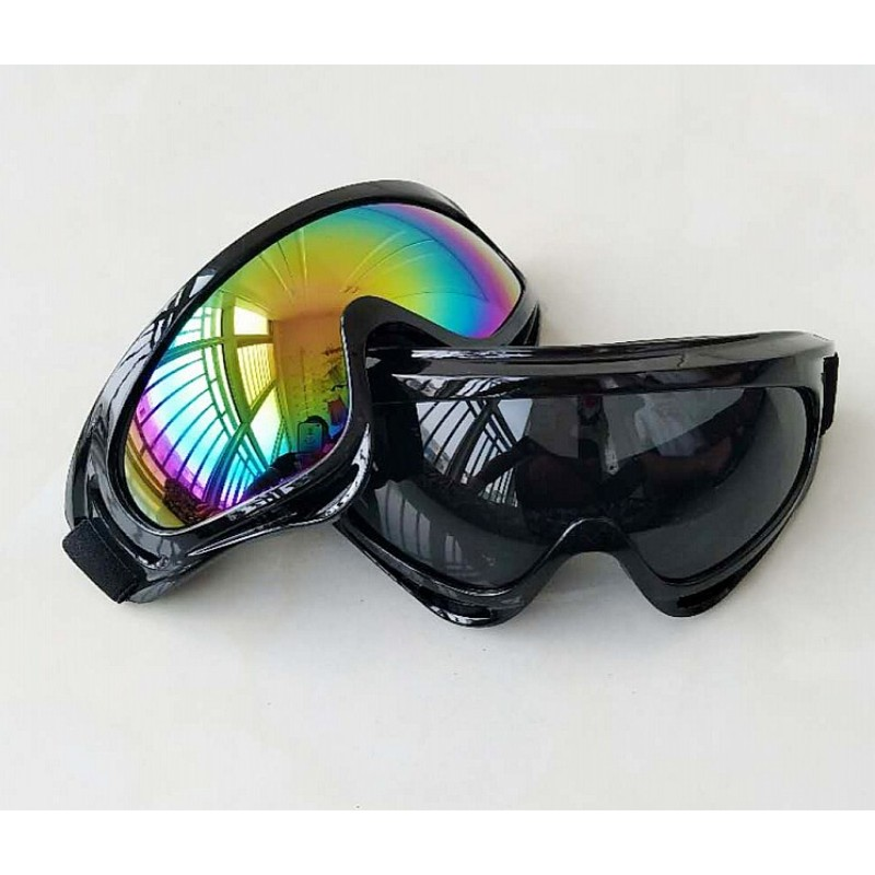 WWII Vintage Motorcycle Goggles Racing Glasses Helmet Light Eyewear Pilot Retro Motocross Daft Punk Helmet Steampunk Accessories