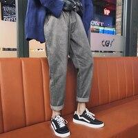 2017 Winter Japanese Style Men S Haren Corduroy Casual Pants Four Seasons All Wear Loose Pure
