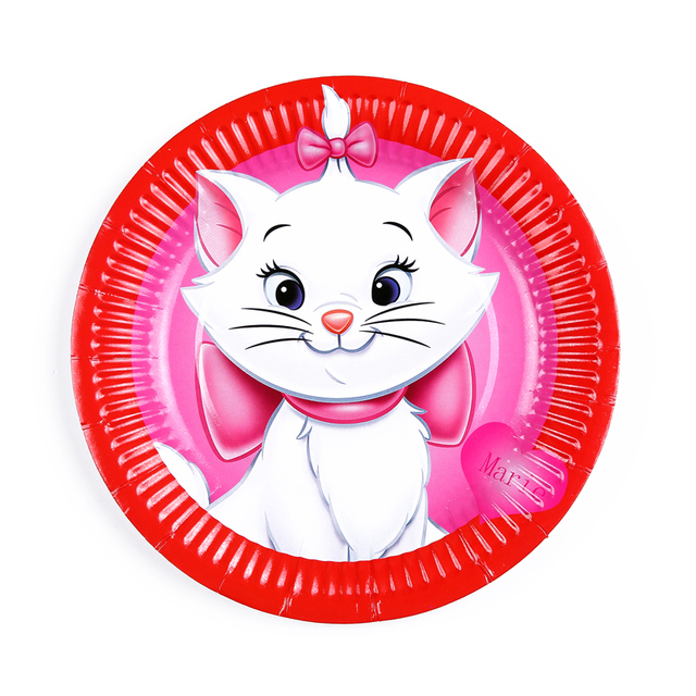 50pcs Kawaii Cat theme Kids Birthday Party printed paper plates for birthday party decoration event party  sc 1 st  AliExpress.com & 50pcs Kawaii Cat theme Kids Birthday Party printed paper plates for ...