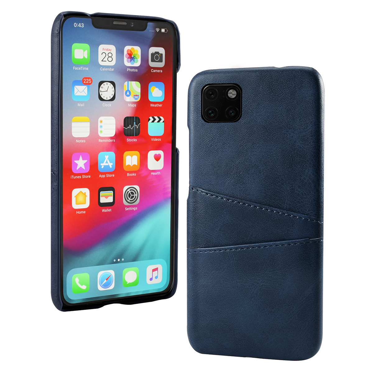 Torubia Leather Card Holder Case for iPhone 11/11 Pro/11 Pro Max 8