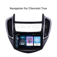 ECTWODVD 9inch Android 8.1 Car Radio GPS Navigation Multimedia Stereo DVD Player for Chevrolet Trax 2013 2014 2015 2016 2017