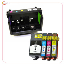 Compatible Print Head Printhead + ink cartridge for HP 920 Printhead for Officejet 6000 6500 6500A 7000 7500A Printer All in one free shipping new print head printhead compatible for fujitsu dpk700 dpk6750 dpk720 dpk710 printer head made in china