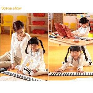Image 5 - 휴대용 61 키 롤업 피아노 USB 미디 키보드 미디 Conctroller 핸드 전자 피아노