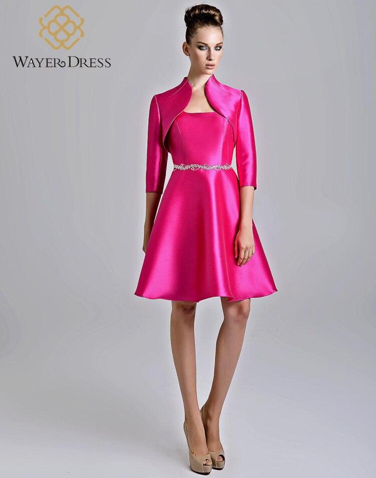 Hot Pink Cocktail Dresses Sale - Boutique Prom Dresses