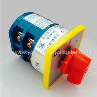 Rotary Switch 3 Postion 550V 40A 2 Poles Red Dot LW5 40 2 Main Universal Changeover