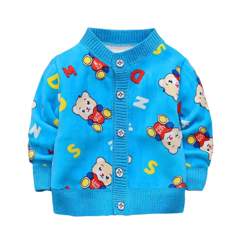 Baby Coat & Jacket Children Outerwear Autumn Spring Cotton Cartoon Jacket Fashion Kids Coat Children's Warm Girls Boys Clothing