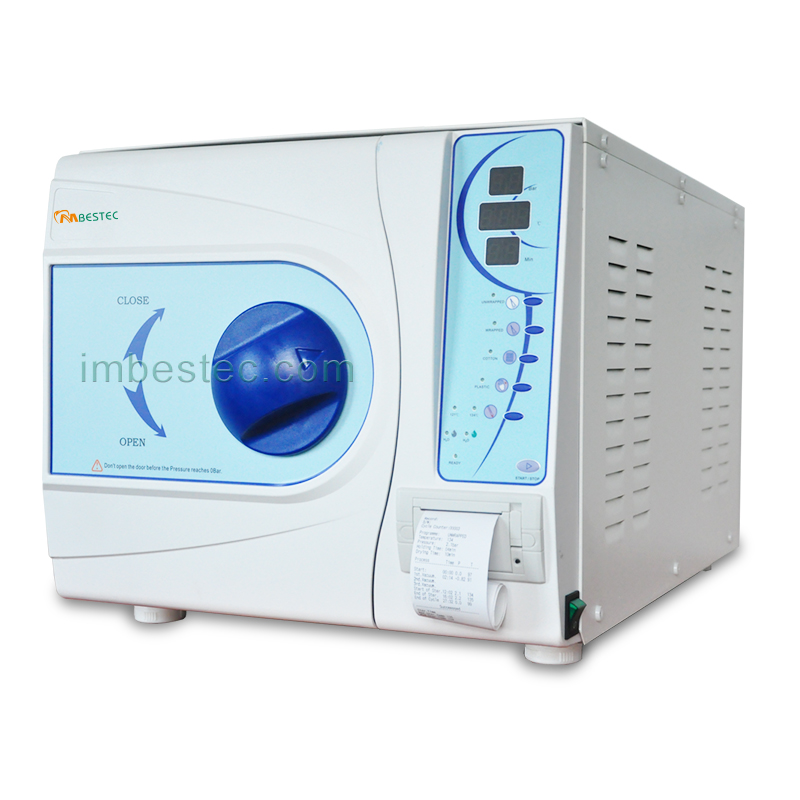 23L Euro CLASS B Dental Medical Autoclave Sterilizer With CE Free Shipping