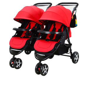 Baby Stroller Double-Shock-Can Infants Twin Children To Flat Russia And Can-Sit Birth
