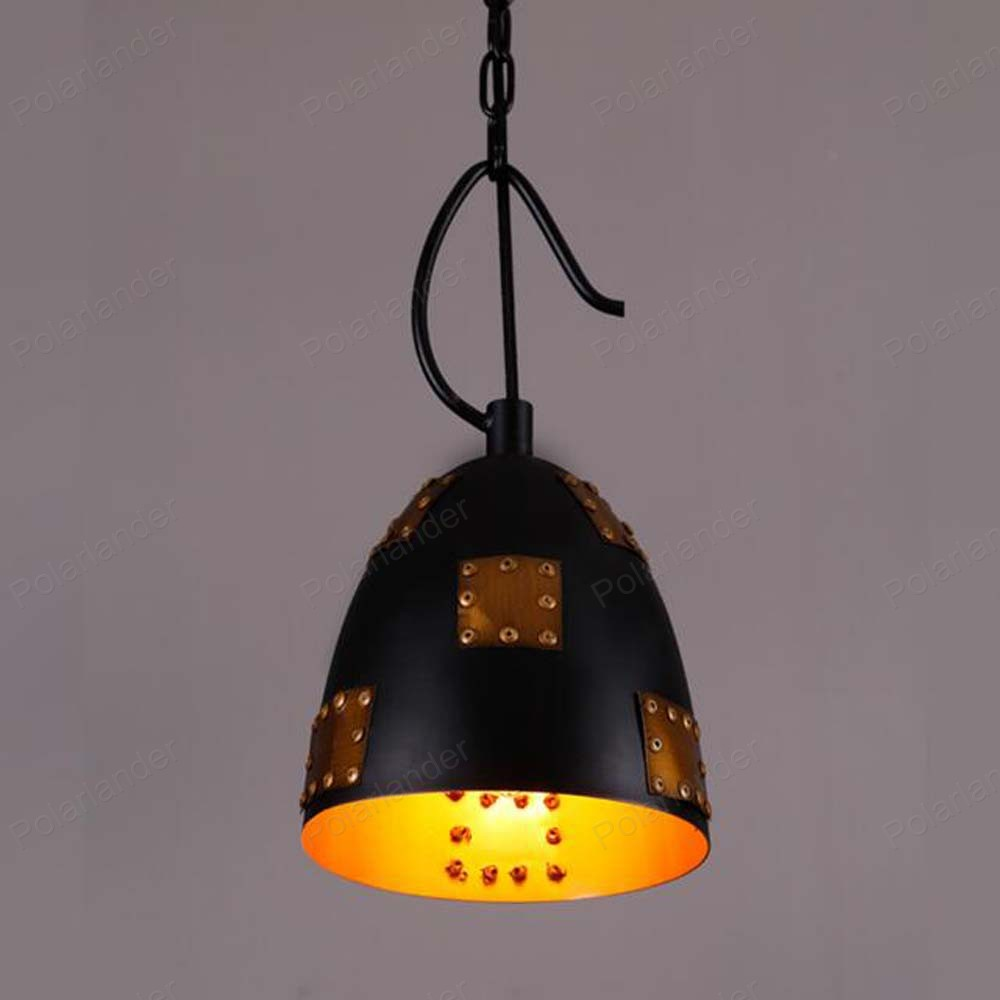 ФОТО Modern Guandeng Shade Chandelier  incandescent Lamp Hanging Light Fixtures iron shade Lamp