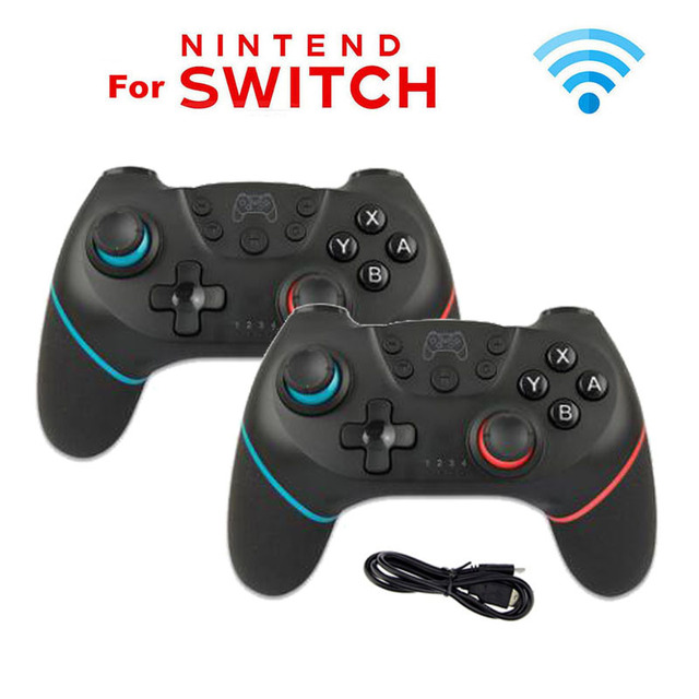 2pcs / 1 pc Wireless Bluetooth Controller for Nintend Switch Pro Gamepad for Nintendoswitch Games Accessories