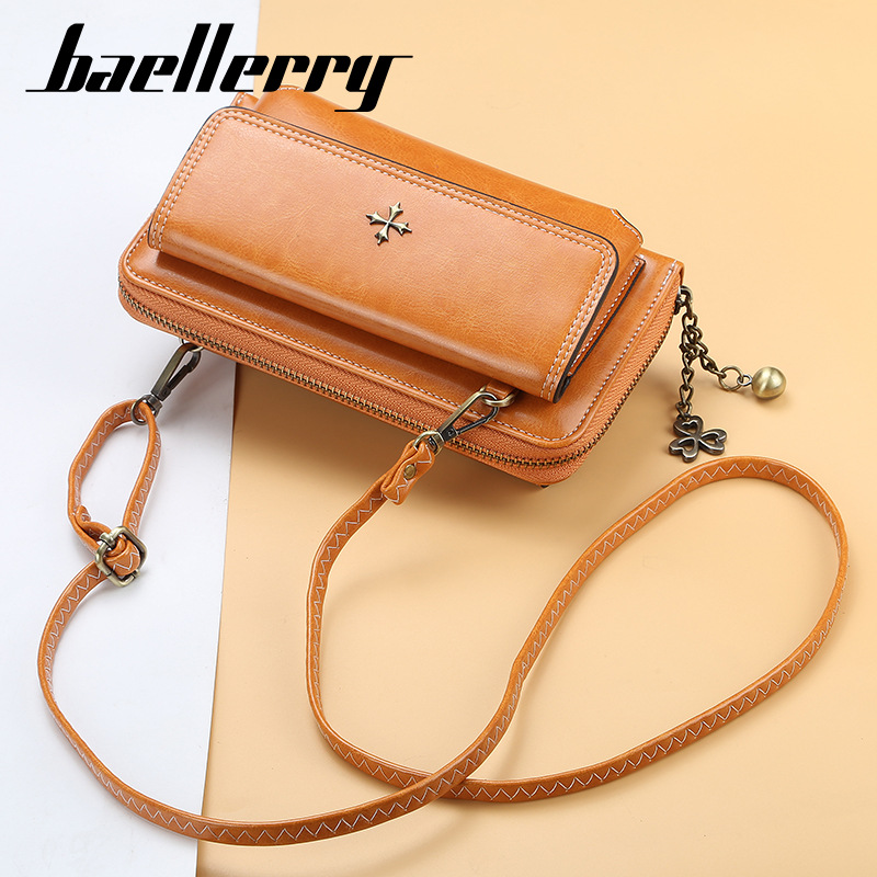 2019 Fashion Long Women Wallets Large Top Quality Vintage PU Leather Card Holder Female Purse Zipper Big Brand Wallet For Girl