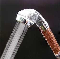 Бесплатная доставка анион турмалин сверхзаряженный био Душ фильтр/ручной душ спа фильтр/насадки для душа