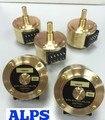 original Japan ALPS RK50112A0004 10KA 20KA 50KA 100KA 250KA fever sound dual double potentiometer switch 10K 20K 50K 100K 250K