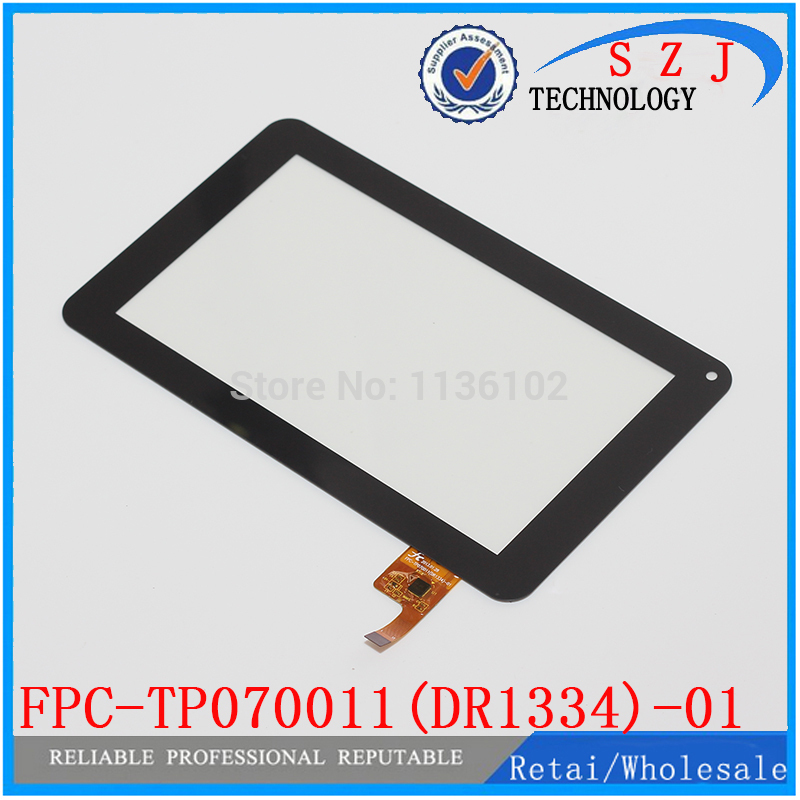 Original 7'' inch Black New Touch Screen Digitizer Tablet PC touch panel FPC-TP070011(DR1334)-01 Free shipping