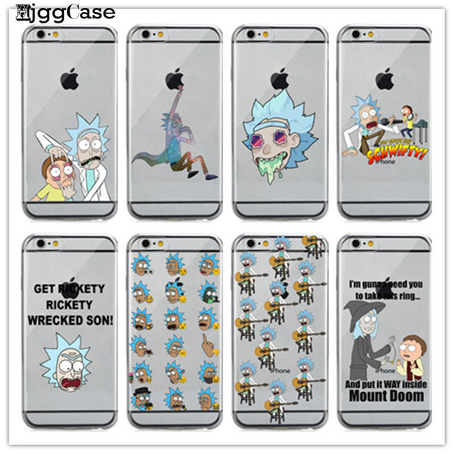 coque iphone 7 rick et morty