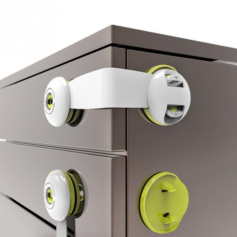 Anti Pinch Protection Multi Purpose Mini Safety Lightweight Lock Durable Baby Latch