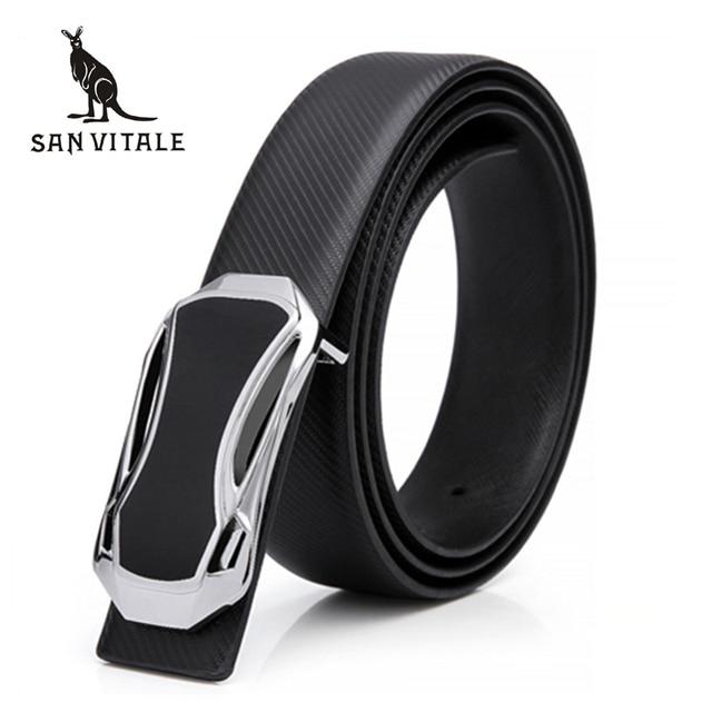 2016 Nueva Marca de Moda de hombre de la correa de Lujo masculina genuina Cinturones de cuero de diseño de la correa para los hombres de alta calidad de la pretina de envío gratis