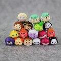 50 unids/lote 1.5 cm Tsum Tsum Mini Pvc Juguetes de la Muñeca Pantalla Limpiador de Adentro Hacia Afuera de Mickey Minnie Oso Animal Juguetes de Los Niños regalo