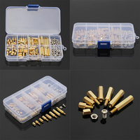 120Pcs M3 Male Female Standoff M3 Spacer Screw Nuts PCB Board Hex Screws Nut Assortments For