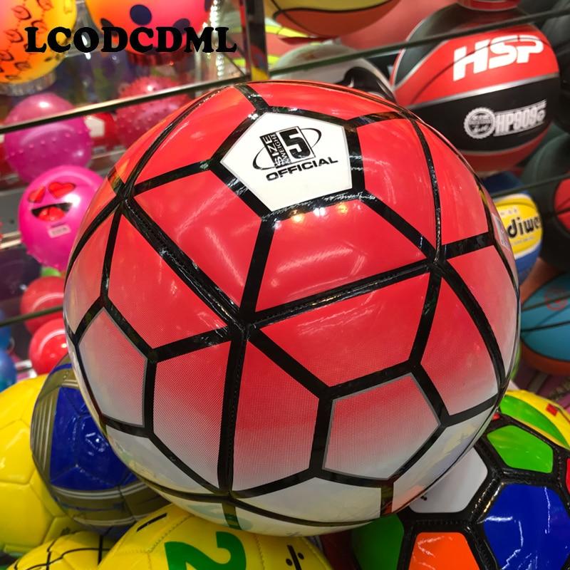 Yüksək keyfiyyətli böyüklər futbolu ölçüsü5 PU futbolunun - Komanda idman növləri - Fotoqrafiya 2