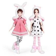 13 可動関節 1/6 3D 目 BJD 人形のおもちゃアクセサリー服靴バッグ帽子ファッションフィギュア Nake 人形おもちゃ女の子のためのギフト