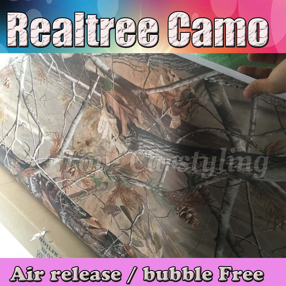 Realtree camo vinyl sticker foile wrap sheet Camouflage Film Car Decals 3M Avery Arlon Vinyl (5)