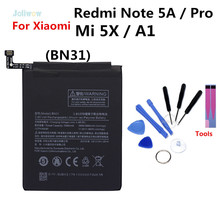 For Xiaomi BN31 Battery Replacement For Redmi Note 5A / Pro for xiaomi mi 5X mi5X mi A1 battery 3000mAh Note 5A 5A pro Batteries цена