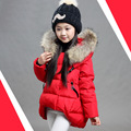 Autumn and winter large children cotton-padded jacket children's winter clothing outerwear