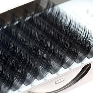 Image 4 - NAGARAKU Flat Ellipse Eyelashes Makeup Lashes Maquiagem 15 Trays lot Split Tips Natural Light Super Soft Mink Eyelashes Cilios