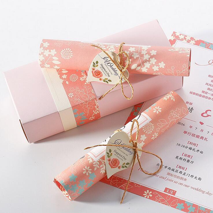 Online Get Cheap Scroll Invitation Aliexpresscom Alibaba Group