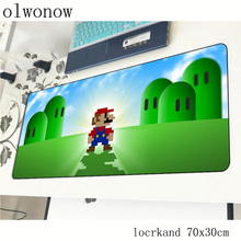 Mario pad mouse Christmas gifts computador gamer mouse pad 70x30cm padmouse big best mousepad ergonomic gadget