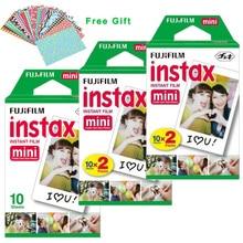 100% original fuji fujifilm instax mini 8 blanco película 50 unids para 8 7 7 s 50 s 90 25 dw 50i Compartir SP-1 Instantánea Polaroid Cámara de Fotos