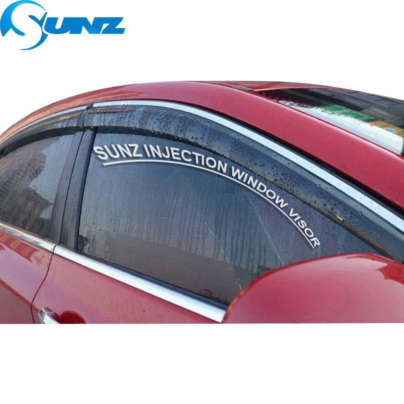 Image 2 - Window Visor for 2012 2016 BMW 116i/118i Side window deflectors rain guards for 2012 2016 BMW 116i/118i SUNZ-in Awnings & Shelters from Automobiles & Motorcycles