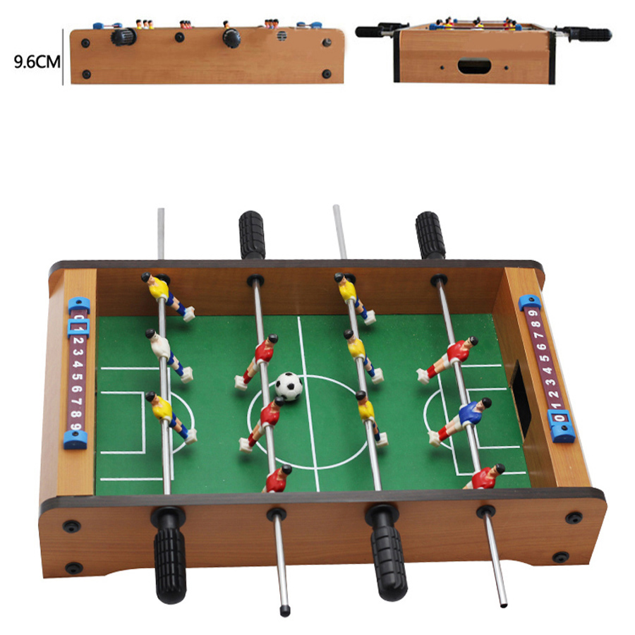 Funny Foosball Soccer Games Table Top Sports for Home Family Party Leisure Ball Desk Game Kids Toy Party Gifts 34.5*21.5*8cm image