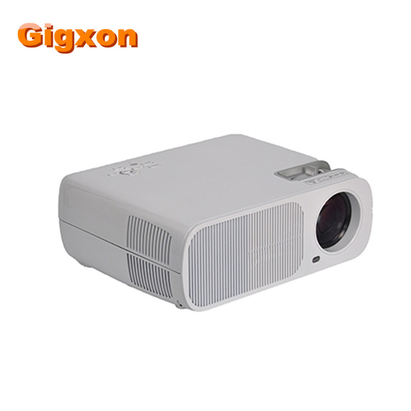 Gigxon - G20 Portable full hd projector 2600 lumens high brightness office use projector mini led projector with remote control gigxon g700a android portable mini projector support full hd level 1920x1080pixels 1200 lumens led projector