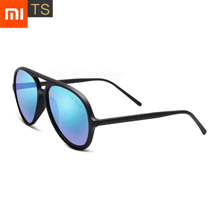 Xiaomi Mijia TS Pilot Sunglasses Men Women Fashion Classical Aviator Rays Polarized Sun Glasses