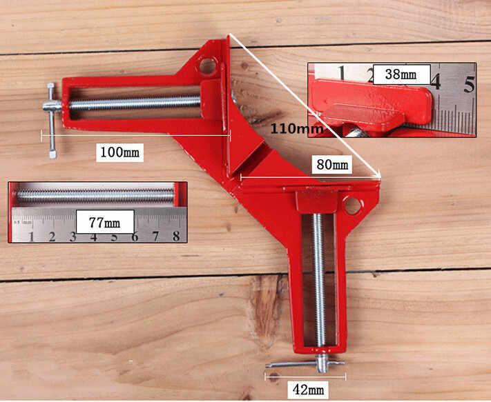 herramienta para carpinter/ía forma cuadrada en /ángulo recto para carpintero HilMe para marcos de fotos cajas armarios o cajones Abrazadera de posicionamiento de 90 grados