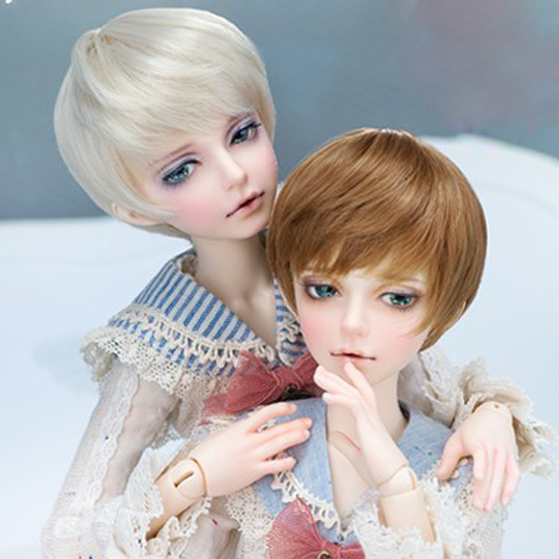New Arrival 1/4 BJD Doll BJD/SD Minifees Mika Cool Resin Doll With Eyes For Baby Girl Birthday Gift Present