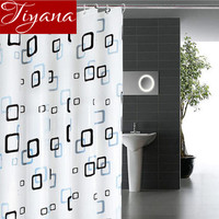 Waterproof Mold Prevention Curtains For Toilet Bathroom Shower Curtains Cloth Hanging Divider Home Decorations 180 200CM