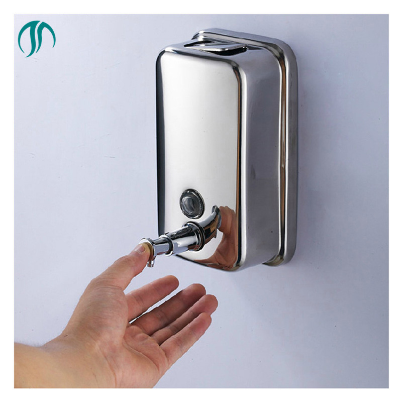 Stainless Steel Soap Dispenser for Detergent Kitchen Hand Dispenser for Kitchen Wall Stainless Steel Bathroom Soap Dispenser patented product 220ml automatic induction soap dispenser energy saving desktop hand washing box suitable for kitchen bathroom